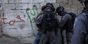 İsrail Askerlerinden Batı Şeria'ya Baskın