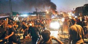 Bağdat'ta hükümet karşıtı gösteriler alevlendi