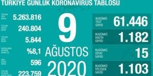 Türkiye'de Covid-19 nedeniyle 15 kişi hayatını kaybetti