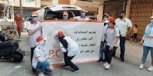 Barzani Yardım Vakfı'ndan Beyrutlu 500 aileye yardım