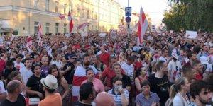 Belarus'ta Lukaşenko'ya karşı genel grev
