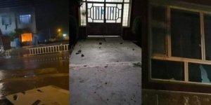 Halepçe'de KDP bürosuna ateş açıldı, kamu binaları yakıldı