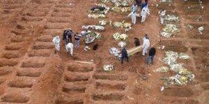 Covid-19 nedeniyle son 24 saatte Brezilya'da 1085, Hindistan'da 1023, Meksika'da 626 kişi öldü