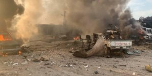 Serê Kaniyê 'de patlama: Ölü ve yaralılar var
