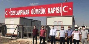 Urfa ile Rojava arasında gümrük kapısı açıldı