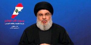 Nasrallah: Amerikalılar bize Lübnan siyasi sistemini çıkarlarımız doğrultusunda geliştirme teklifi etti