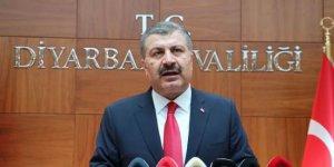 Bakan Koca: Diyarbakır'da durum kontrol altına alındı