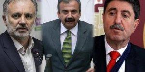 Saadet Partisi'nden Ayhan Bilgen, Altan Tan ve Sırrı Süreyya Önder çıkışı