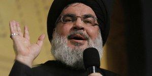 Nasrallah'tan Lübnanlı siyasileri 'ihanetle' suçlayan Macron'a sert tepki