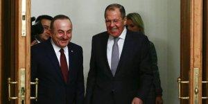 Lavrov ile Çavuşoğlu'dan Ortak Açıklama