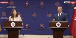 Çavuşoğlu, İsveç Dışişleri Bakanı Linde Arasında Tartışma