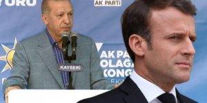 Erdoğan: Macron'un tedaviye ihtiyacı var