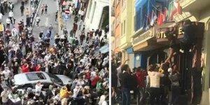 İstanbul'daki Suriyeliler Otellerdeki Fransız Bayraklarını İndirdiler