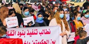 Şengallilerden PKK protestosu