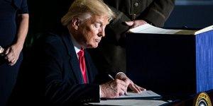 Bloomberg: Trump, Türkiye'ye S-400 yaptırımlarını içeren tedbir paketini imzaladı