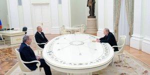 Ateşkesin ardından Putin, Aliyev ve Paşinyan ilk kez bir araya geldi