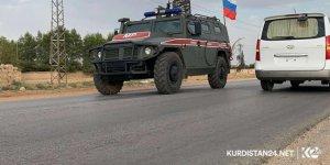 300 Rus askeri polisi Haseke'de