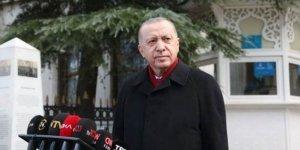 Erdoğan, Şengal'e operasyon sorusunu yanıtladı