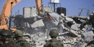 İsrail Filistinlilere ait evleri yıkmaya devam ediyor