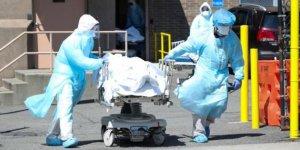 ABD'de 1034 kişi daha koronavirüsten öldü
