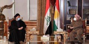 Barzani Ammar el-Hekim'le görüştü