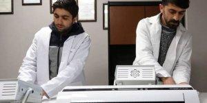 Van'da üretilen koronavirüsü yok eden cihaz 4 ülkeye ihraç edildi