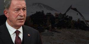 Hulusi Akar, Bitlis'teki askeri helikopterin düşüş nedenini açıkladı