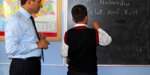 20 bin öğretmen alınacak; Rusça'ya 25, Kürtçe'ye 3 kontenjan