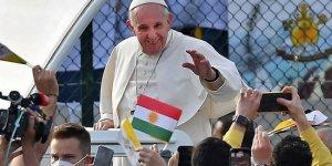 Papa Francis: Kürt milletine teşekkür ediyorum