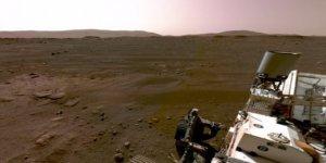 NASA'nın 'Mars kaşifinin' gönderdiği ses kaydı yayınlandı