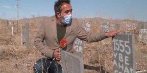 En büyük göçmen mezarlığı Van'da