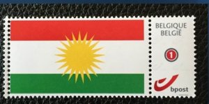 Li Belcîkayê pûla bi Ala Kurdistanê rojane tê bikaranîn