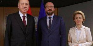 Erdoğan, AB yönetimiyle video konferans aracılığıyla görüştü