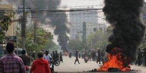 Myanmar: 19 protestocuya idam cezası verildi, 20 kişi öldü