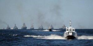 Rus savaş gemileri tatbikata başladı