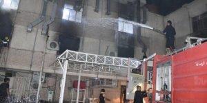 Bağdat'ta Covid-19 hastanesinde yangın: Çok sayıda ölü ve yaralı var