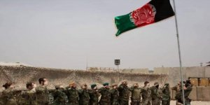 Afganistan'da ABD Bayrağı İndirildi