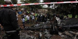 Nijerya'da askeri uçak düştü: 12 ölü
