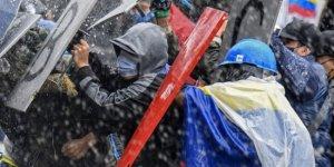 Kolombiya'da protestolarda 48 kişi hayatını kaybetti