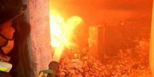 Hindistan'da yangın: 18 ölü