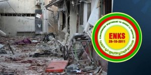ENKS: Efrin'deki saldırı ile ilgili soruşturma açılmalı
