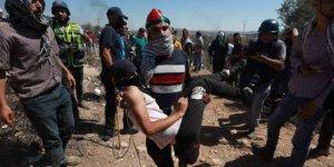 Barbar İsrail saldırdı 87 Filistinliyi yaraladı