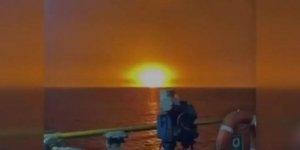 Hazar Denizi'nde çok büyük patlama!