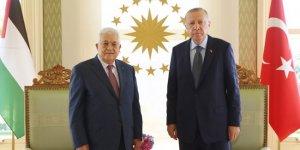Cumhurbaşkanı Erdoğan ile Filistin Devlet Başkanı Abbas görüştü