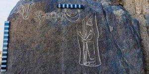"""Suudi Arabistan'da 2 bin 600 yıllık """"yazıt"""" keşfedildi"""