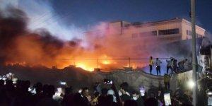 Irak'taki Yangında ABD Parmağı