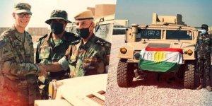 Koalisyon Güçleri'nden Peşmerge'ye zırhlı araç yardımı