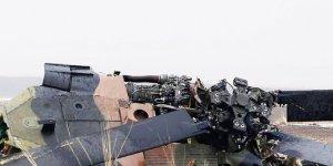 Irak'ta askeri helikopter düştü: 5 ölü