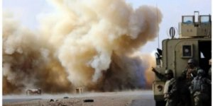 Irak'ta 3 Amerikan Konvoyuna Saldırı