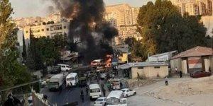 Şam'da askeri otobüste patlama